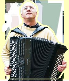 Photo accordéoniste jésus aured