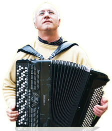 Photo accordéoniste jésus aured